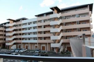 陸前高田市内の災害公営住宅
